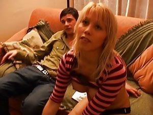 Amateur blonde tranny and bisexual guy - home XXX tube